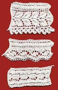 Vintage 1886 Lace Edging - Free Knitting Pattern