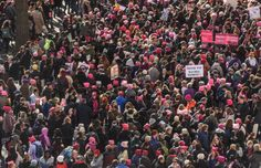 Almost a year after the historic Women's March on Washington, activists are marching once again. See photos of the Women's March across the U.S.