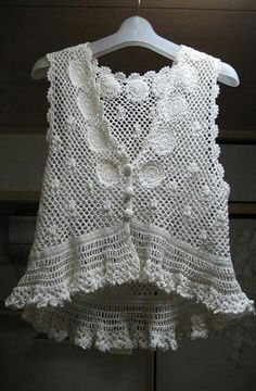 very pretty crochet top