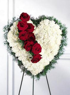 grapevine funeral wreath - Google Search