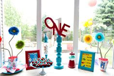 Dr. Seuss Party #drseuss #party