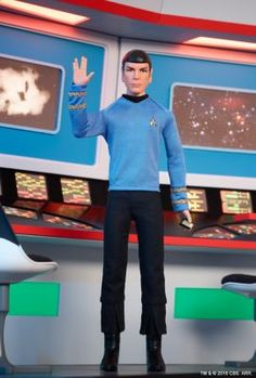 Star Trek™ Spock Doll | The Barbie Collection