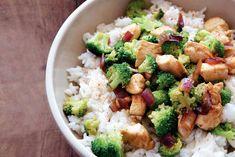 Pittige kip-broccolischotel - Recept - Allerhande