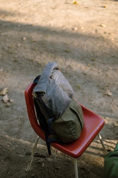 Dookie - 20L waxed cotton canvas rolltop backapack