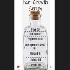 Different hair oil that promote hair growth ! Natural Hair Journey, Natural Hair Care, Natural Hair Styles, Pomegranate Seed Oil, Curly Girl, Tea Tree Oil, Hair Oil, Castor Oil, Jojoba Oil