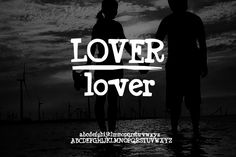 Check out Hand Drawn Font | Lover font by Leonard Posavec on Creative Market