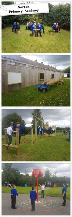 Our incredible playground development working with Norton Primary Academy. 4 brand new areas to promote physical development, investigative learning and creative play.