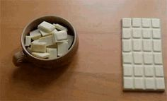 Funny pictures about Infinite Chocolate Hack. Oh, and cool pics about Infinite Chocolate Hack. Also, Infinite Chocolate Hack photos. Anim Gif, Gif Animé, 4 Panel Life, Les Gifs, Mind Tricks, Brain Tricks, Optical Illusions, Magic Illusions, Cool Stuff