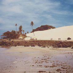 Seguindo o tema de hoje #filtro do #thefabulousproject - a foto de hoje é da Praia de Genipabu - RN. Famosa por suas dunas esquibunda passeio de jipe e de dromedários é um dos lugares que não pode ficar de fora do roteiro. Uma paisagem de tirar o fôlego não acham?   #RioGrandedoNorte #Natal #PraiadeGenipabu #seviranomundo #viagem #travel #dunas #dunasdegenipabu