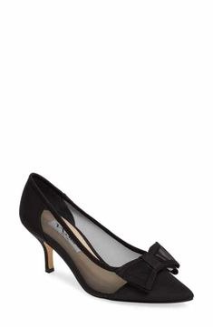 b42d2dfceb7 Nina Bianca Pointy Toe Pump (Women) Kitten Heel Shoes