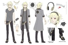 Yohioloid needs a lot more love! Here's some cool concept art for him. #vocaloid #yohio #anime