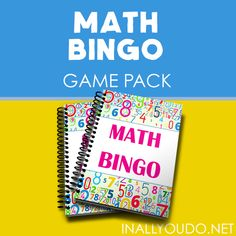 Help kids work on their addition facts (1-100) with this printable Math BINGO Game Pack. Includes number cards (1-100) and 5 Bingo Game Cards. Print, laminate for longevity and durability, and play! #mathfacts #addition #homeschooling #iaydhomeschoolers #iadycommunity Counting Activities, Book Activities, Math Bingo, Benefits Of Homeschooling, Sound Words, Thanksgiving Preschool, Bible Study Journal, Math Facts, Bible Lessons