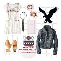 """""""Winter Wanderlust with American Eagle: Contest Entry"""" by ilona-828 ❤ liked on Polyvore featuring Essie, American Eagle Outfitters, Martha Stewart, Kate Spade and aeostyle"""