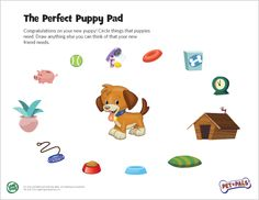 LeapFrog Perfect Puppy Pad- Caring for pets—in real life and in play scenarios—helps children develop qualities of responsibility and empathy. Developing these important social skills will help your child thrive in school and life.