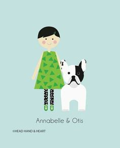 Custom family portraits #pets #family
