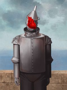 Magritte + Tin man Rene Magritte  ( 1898 - 1967 ) More At FOSTERGINGER @ Pinterest
