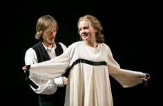 Carey Mulligan and Mackenzie Crook (Carey Mulligan and Bill Nighy Prepare 'Skylight' for Broadway - NYTimes.com)