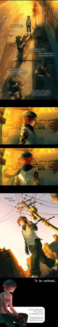 Fisheye Placebo :: Hello World! (Part 4) | Tapastic Comics - image 4