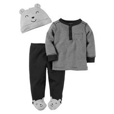 3-Piece Little Character Set ($11) ❤ liked on Polyvore featuring baby and to be sorted