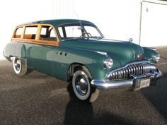 49 Buick Super Woody Wagon