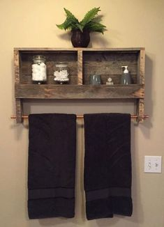Off Bathroom Decor Rustic Wood Pallet Furniture Outdoor Furniture Double Tow. CLICK Image for full details Off Bathroom Decor Rustic Wood Pallet Furniture Outdoor Furniture Double Towel Rack Bathroom Shelf Rusti. Pallet Crafts, Diy Pallet Projects, Home Projects, Woodworking Projects, Woodworking Plans, Diy Crafts, Pallet Home Decor, Pallet Ideas For Home, Long Pallet Ideas