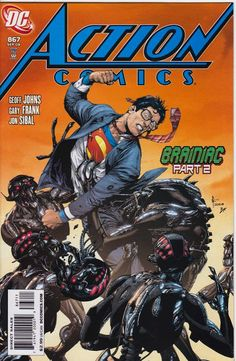 Chris is on Infinite Earths: Action Comics #867 (2008)