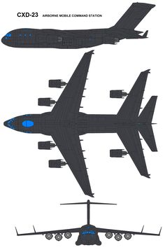 S.H.I.E.L.D Boeing_C_17 CXD-23 Airborne Mobile Command Station-sheeld