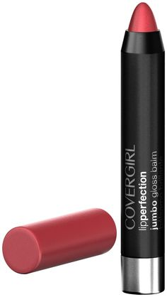 CoverGirl Lip Perfection Jumbo Gloss Balm, Cotton Candy Twist 213 oz ml) by AB: Innovative Jumbo Gloss balm, combines sheer color and soft shine without stickiness! Unique twist up form. Shea and mango butters, smooth application and feel. Girls Lips, Salon Style, Girls Makeup, All Things Beauty, Fun Things, Girly Things, Random Things, Makeup Lipstick, Lipsticks