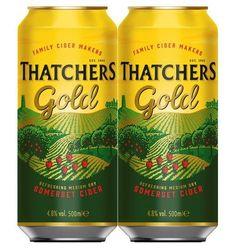 Thatchers gold blik