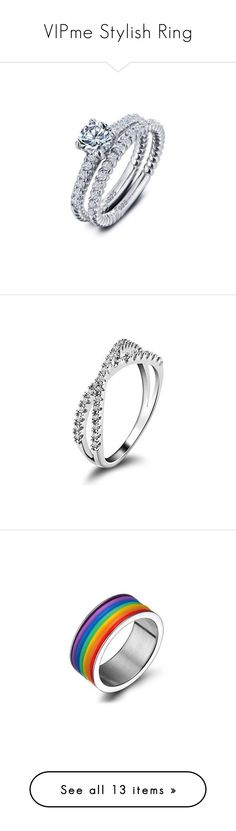 """VIPme Stylish Ring"" by vipme ❤ liked on Polyvore featuring jewelry, rings, silver charms jewelry, square silver ring, charm jewelry, square ring, silver jewelry, star jewelry, star ring and silicon ring"