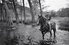 American Cowgirl, 101-year-old Connie Reeves, still rides everyday. (Photo by Jamie Williams)