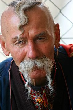 A Ukranian Cossack, Krakow | Flickr - Photo Sharing! - faces of the people