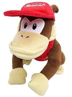 Little Buddy Llc, Super Mario All Star Collection: Diddy Kong 7 inch Plush, Size: Small, Multicolor Playmobil City, Mario Toys, Super Mario All Stars, Diddy Kong, Donkey Kong Country, Nintendo Characters, Super Mario Brothers, Halloween Disfraces, Plush Dolls