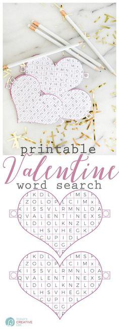 Valentine Word Searc