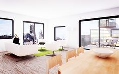 JDS architects: keizer karel building proposals, ghent