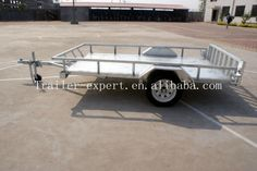 New style with ramps ATV&car trailer
