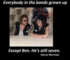 Awh Ben and Danny