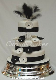 If I choose to not have a pj wedding and go with something a little more of the classy side...I want this cake! Feathers and ALL