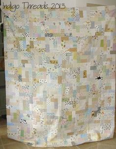 Low Volume quilt top | Flickr - Photo Sharing!