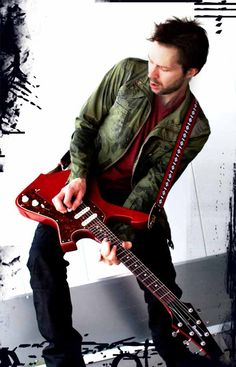 Paul Gilbert... This man is quickly climbing my personal list of top ten guitarists... His playing style, pedagogic teaching ability, and personality really ring true with me.