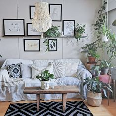 #living #room #livingroom #decor #style #macrame #green #livingroom #rustic #scandi #nordic #cozy #hygge