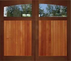 Shop for wooden overhead garage doors with immediate delivery. Overhead Garage Door, Outdoor Decor, Overhead Garage, Garage, Garage Doors, Doors, Painted Doors, Overhead Door, Exterior Doors