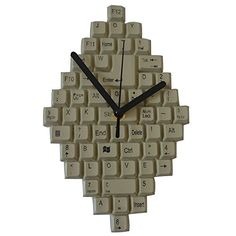 Giftgarden Friends Gift Wall Clock Keyboard Decor Clocks ... https://www.amazon.co.uk/dp/B01GFGZH6O/ref=cm_sw_r_pi_dp_x_ZV3yybXM8V6P0