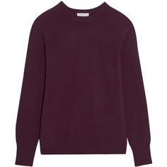 Equipment Sloane cashmere sweater ($300) ❤ liked on Polyvore featuring tops, sweaters, plum, cashmere tops, plum top, purple sweaters, loose fitting sweaters and loose fitting tops