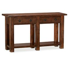 Benchwright Console Table #potterybarn