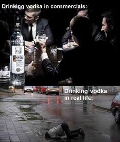 Drinking vodka - Imgur