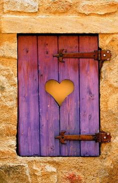 Old, but gold πόρτες👍 παράθυρα I Love Heart, With All My Heart, Love Symbols, Heart Art, Orange And Purple, Yellow, Doorway, Belle Photo, Windows And Doors