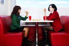 Daria cosplay- Daria Morgendorffer & Jane Lane