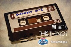 Not #easytodigest like Rice Krispies®. How'd you tell your kids about the good ol' days? Tell us w/#easytodigest.