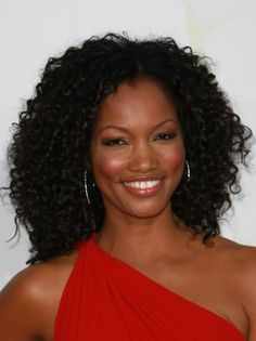 Garcelle Beauvaiss chic curly hairstyle